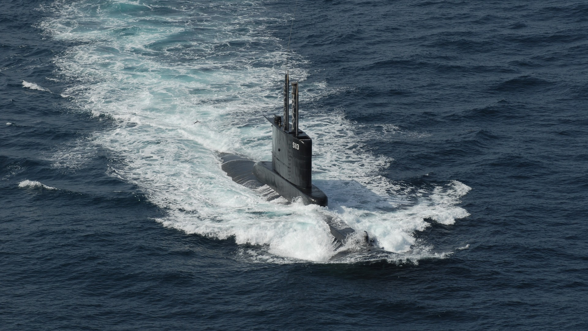 Submarine at sea wallpapers and images   wallpapers pictures photos 1920x1080