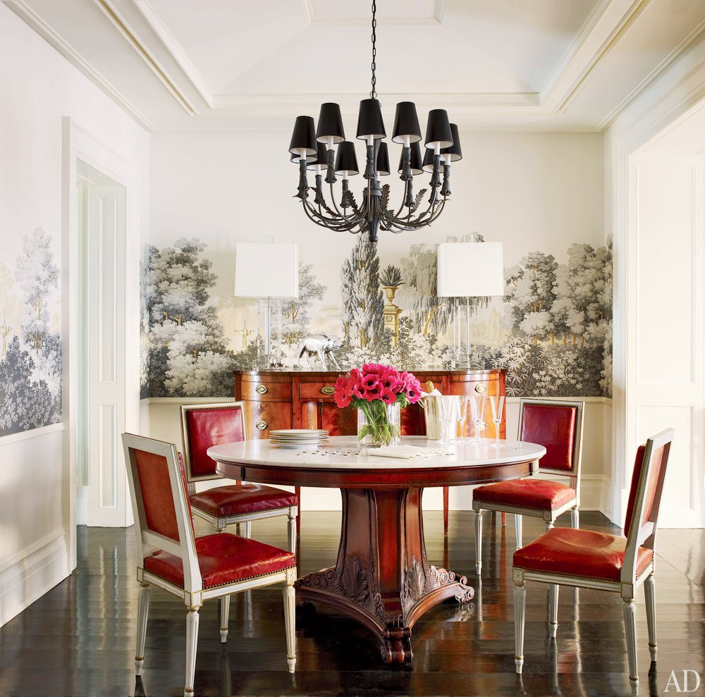 Create a Bold Dining Room With Wallpaper Rooms Home Garden 1000x989