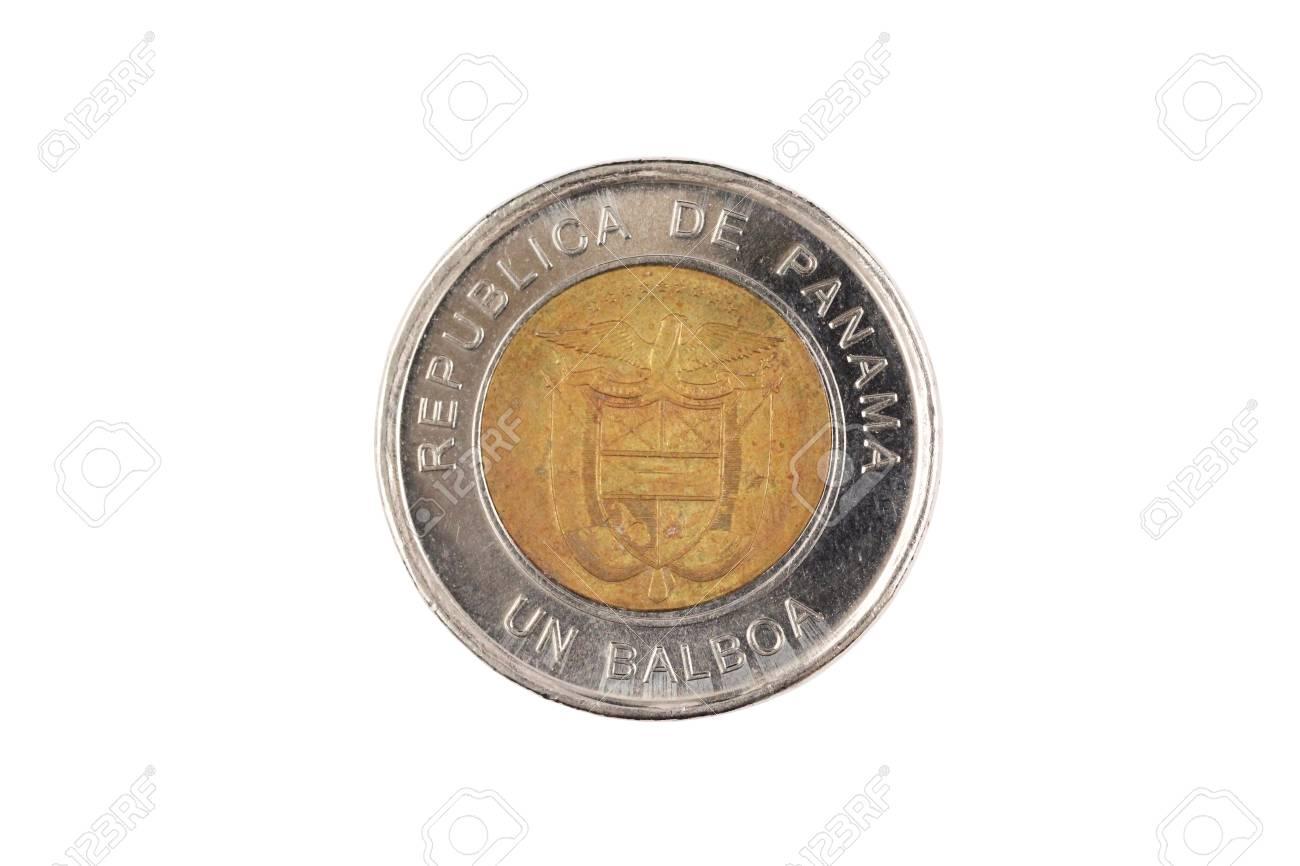 A Close Up Image Of A Panamanian Bimettalic One Balboa Coin 1300x866