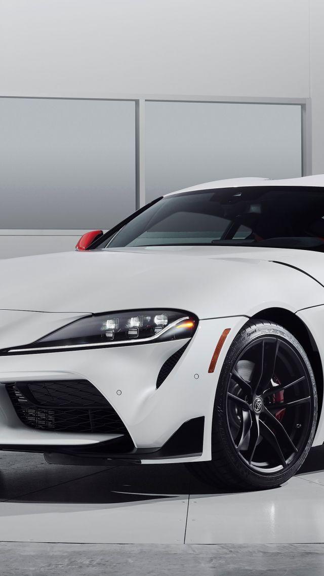 Wallpaper Toyota Supra A90 2020 Cars 2019 Detroit Auto Show 4K 640x1138