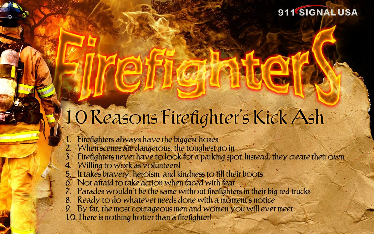 Volunteer Firefighter Wallpaper wallpapers 1280x800