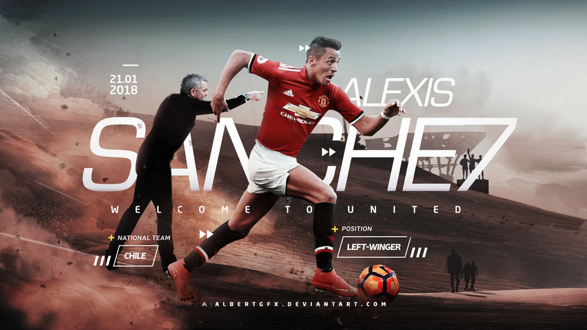 10 Alexis Sánchez Manchester United 4k Wallpapers On