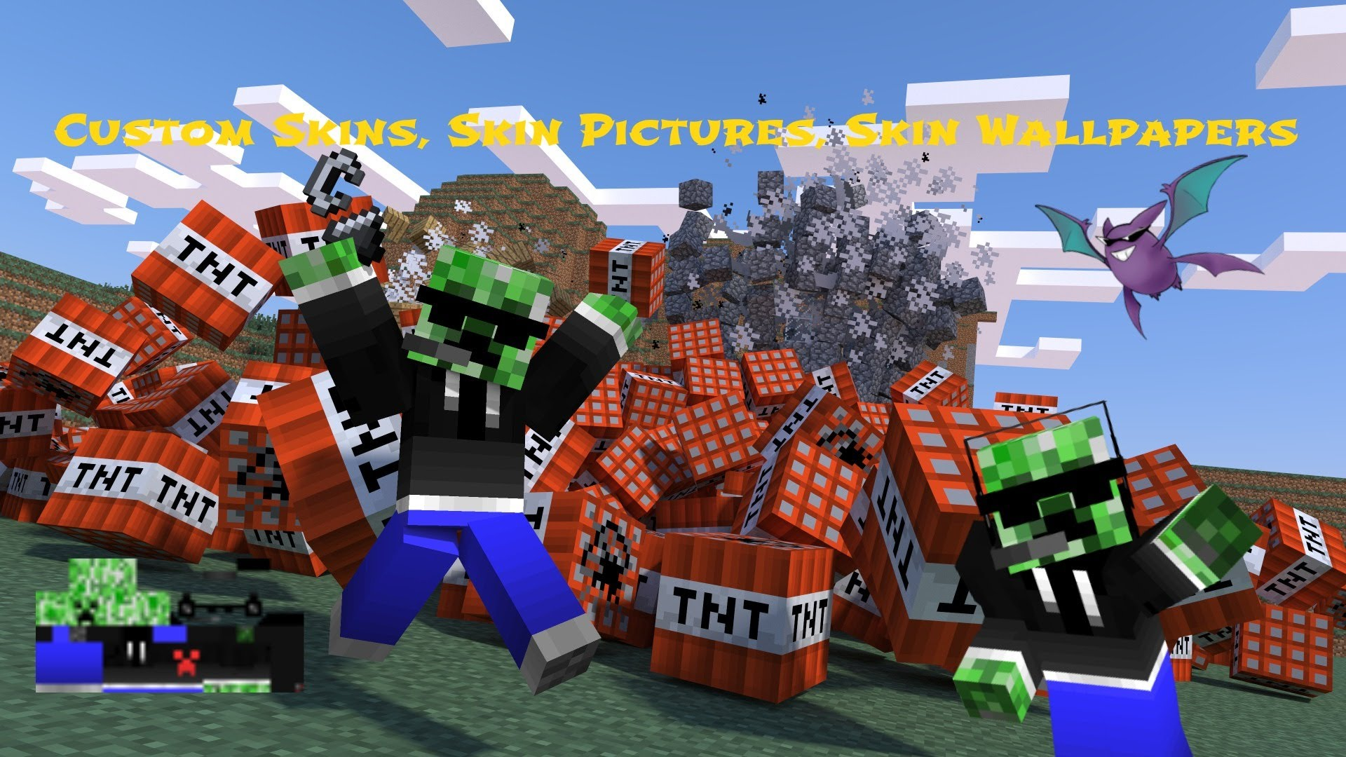 Minecraft   How To Make Custom Skins PNG Picture of Skin And 1920x1080