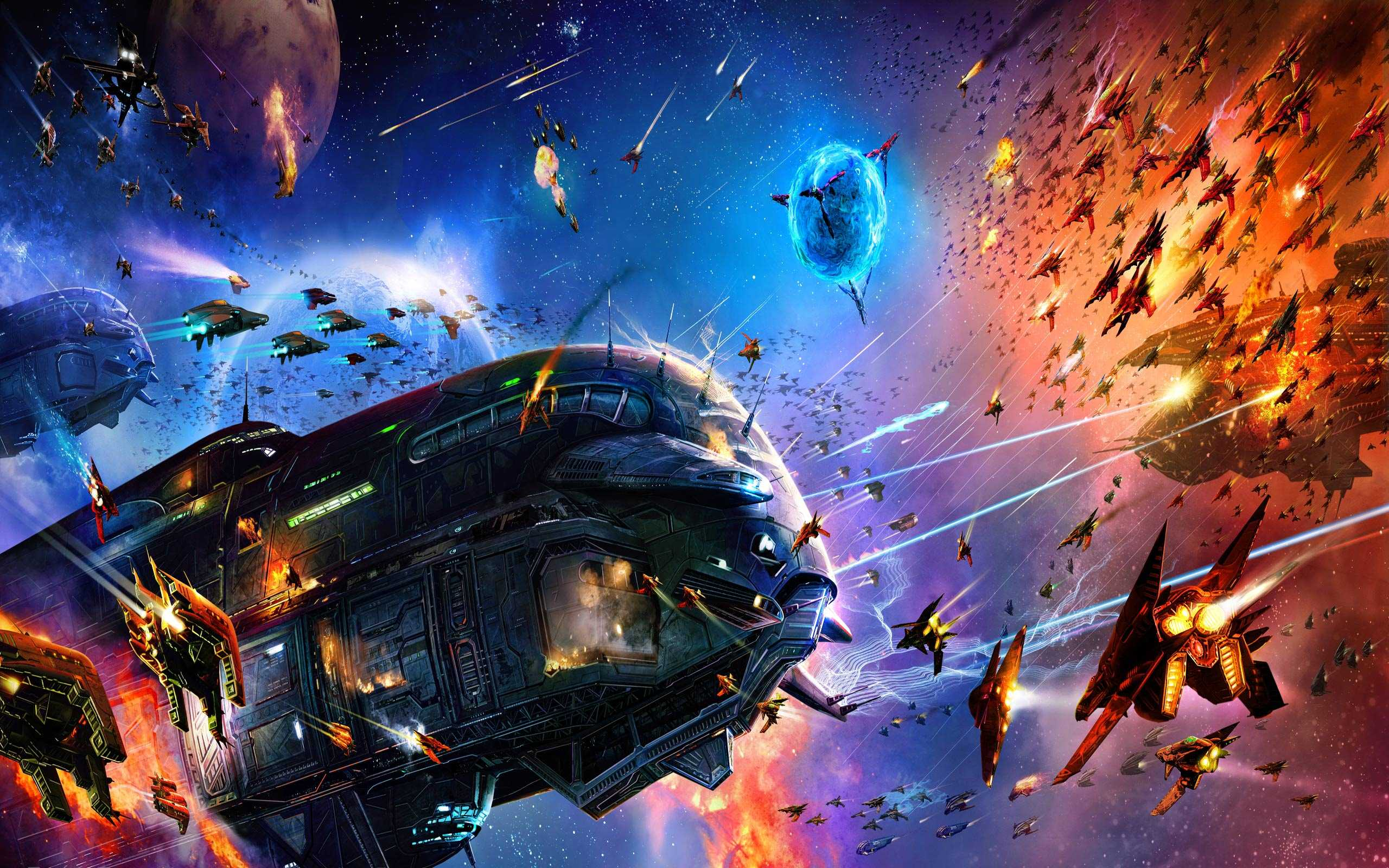 Inter-Galactic War Image Two