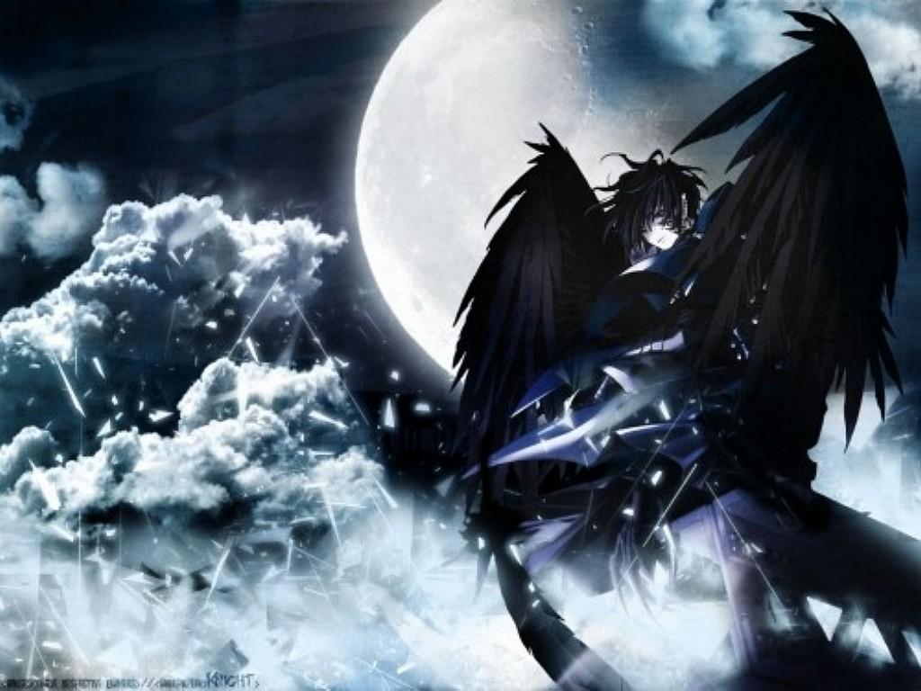 Dark Angel Anime Wallpaper 7743 Hd Wallpapers 1024x768