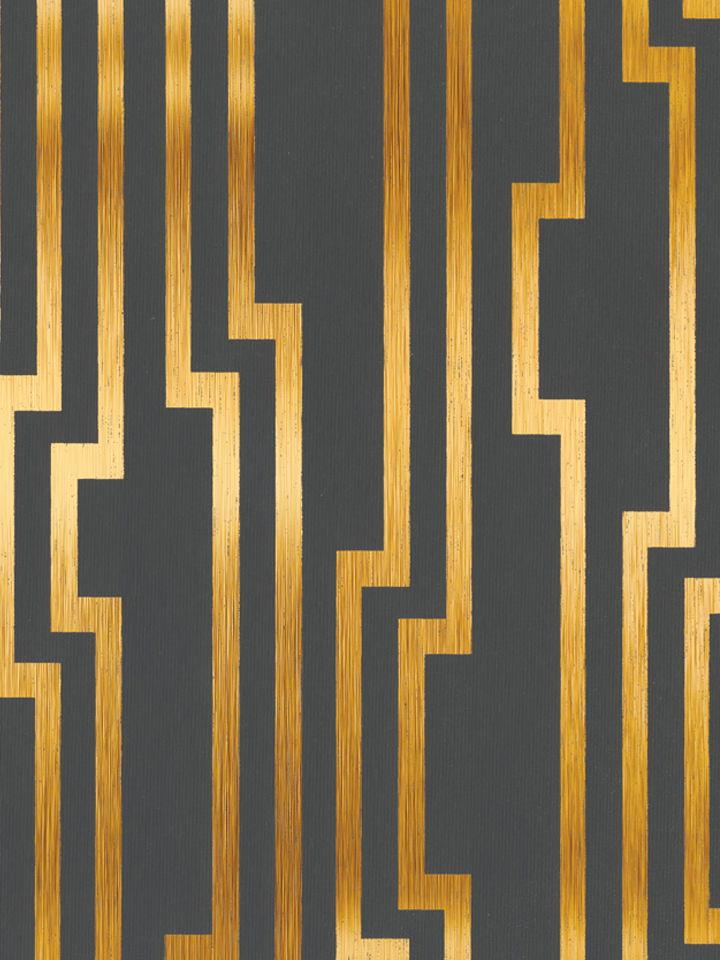 Regal Lattice   Screen Printed Wallpaper [TRE 12908] Designer 720x960
