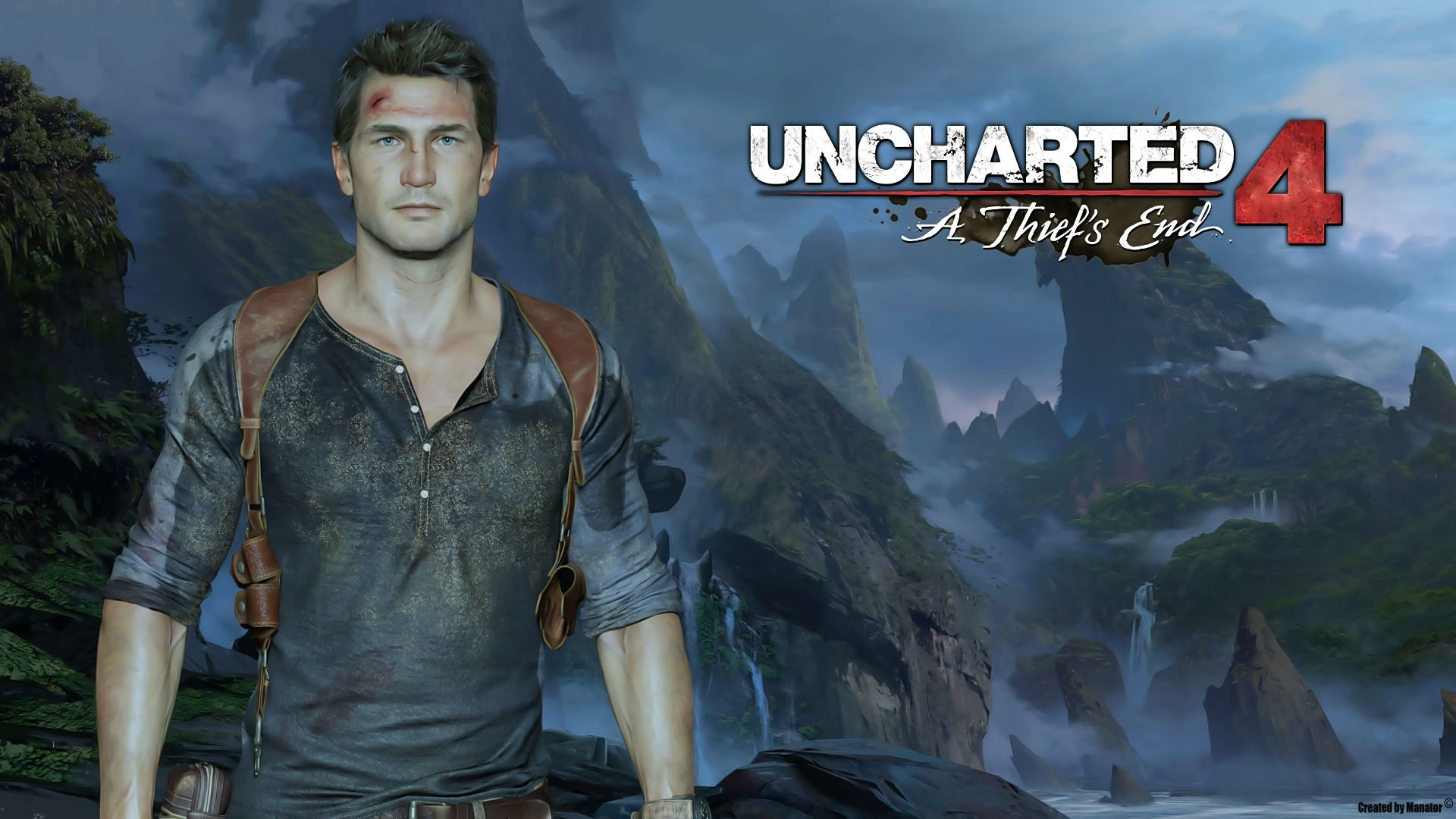 UNCHARTED 4 THIEFS END action adventure tps shooter platform poster 1920x1080