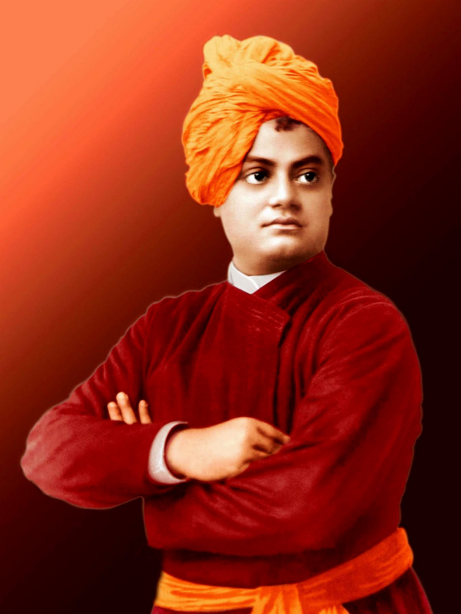Swami Vivekananda Wallpapers posted by Michelle Sellers 1600x2133