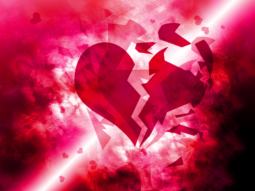 Broken Heart Backgrounds 1024x768