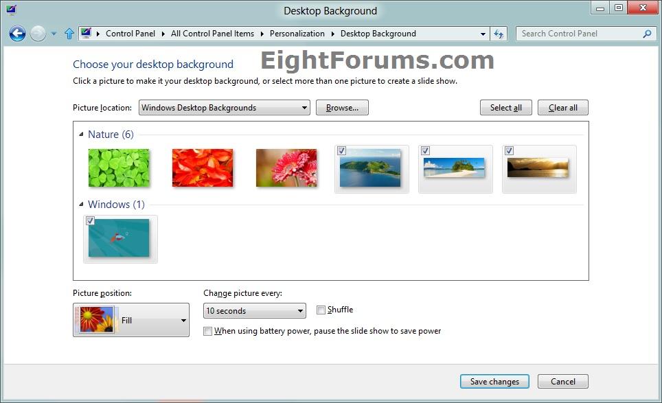 Free Download Desktop Background Change In Windows 8