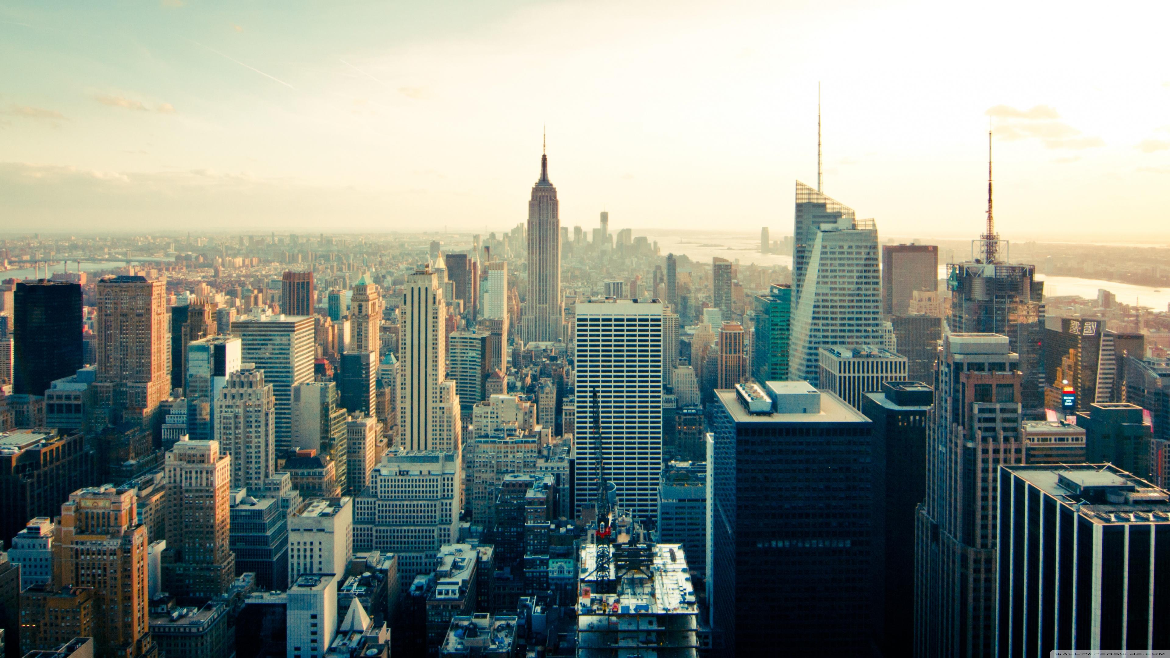 Skyline Buildings 4K HD Desktop Wallpaper for 4K Ultra HD TV 3840x2160
