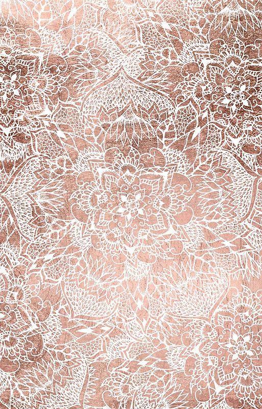96 Gold Rose Wallpapers On Wallpapersafari