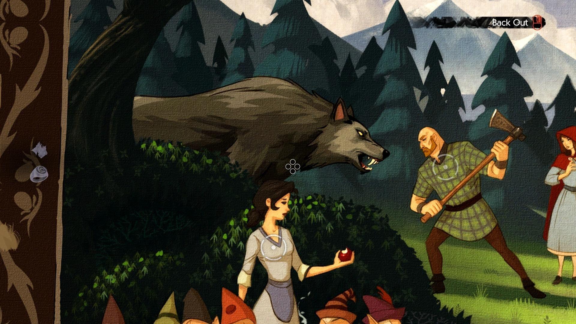THE WOLF AMONG US game dark werewolf fantasy g wallpaper background 1920x1080