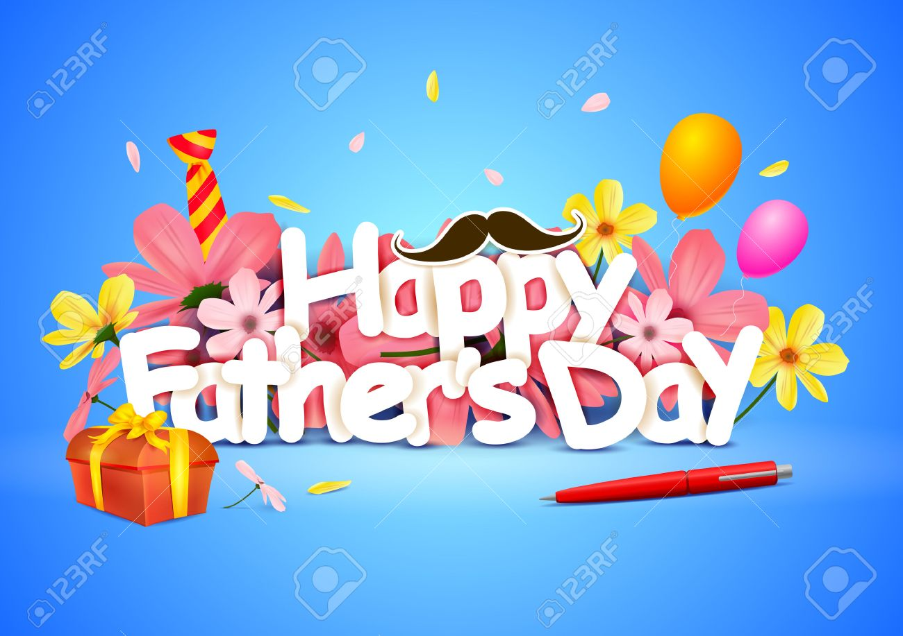 Happy Fathers Day Wallpaper Background Royalty Cliparts 1300x917