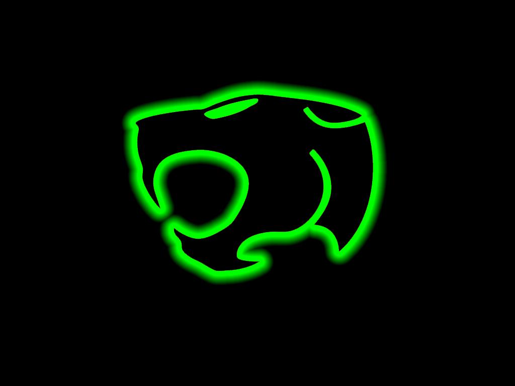 Thundercats logo wallpaper by sealclubber 1024x768
