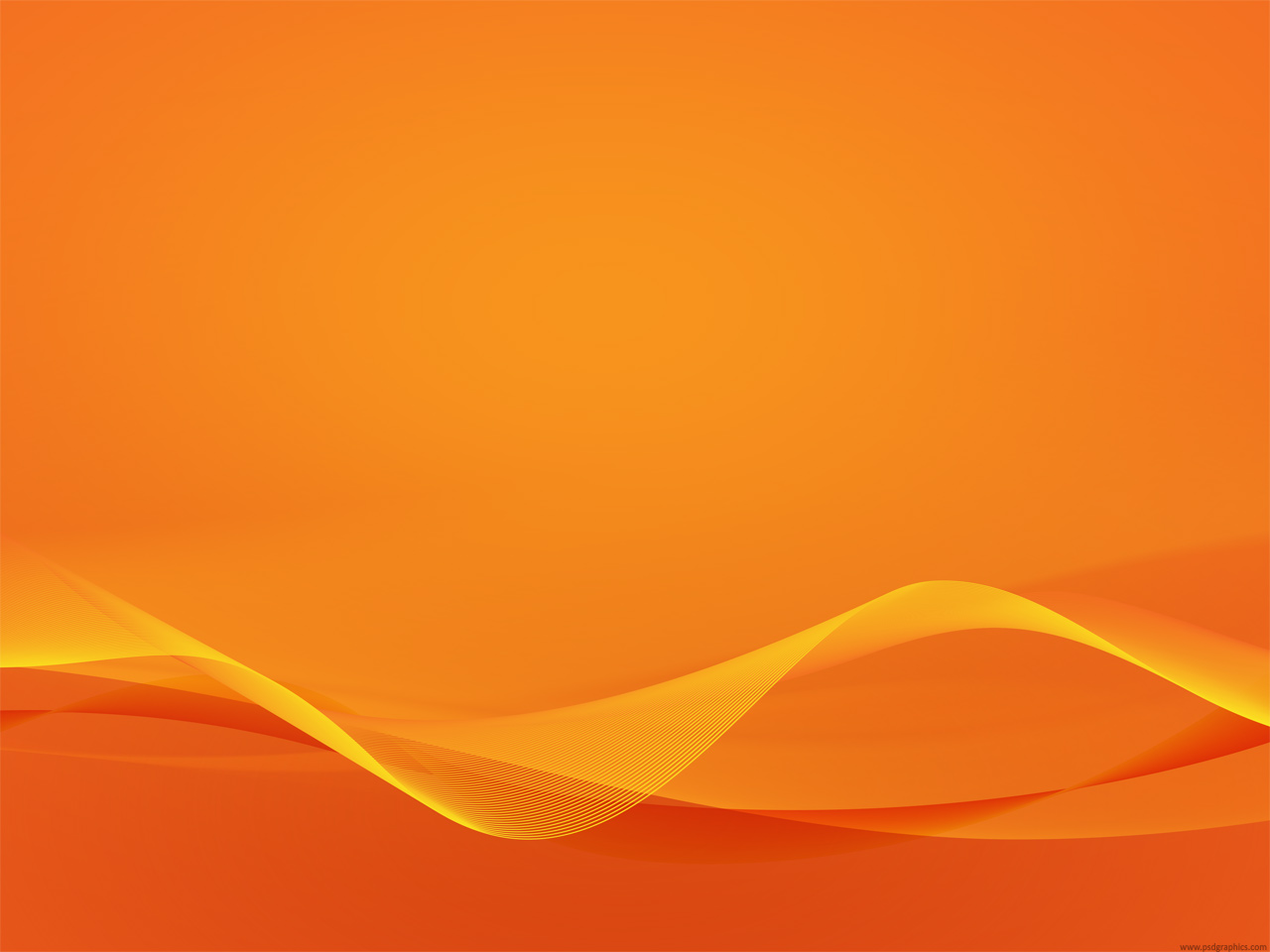 Medium size preview 1280x960px Wavy orange design 1280x960