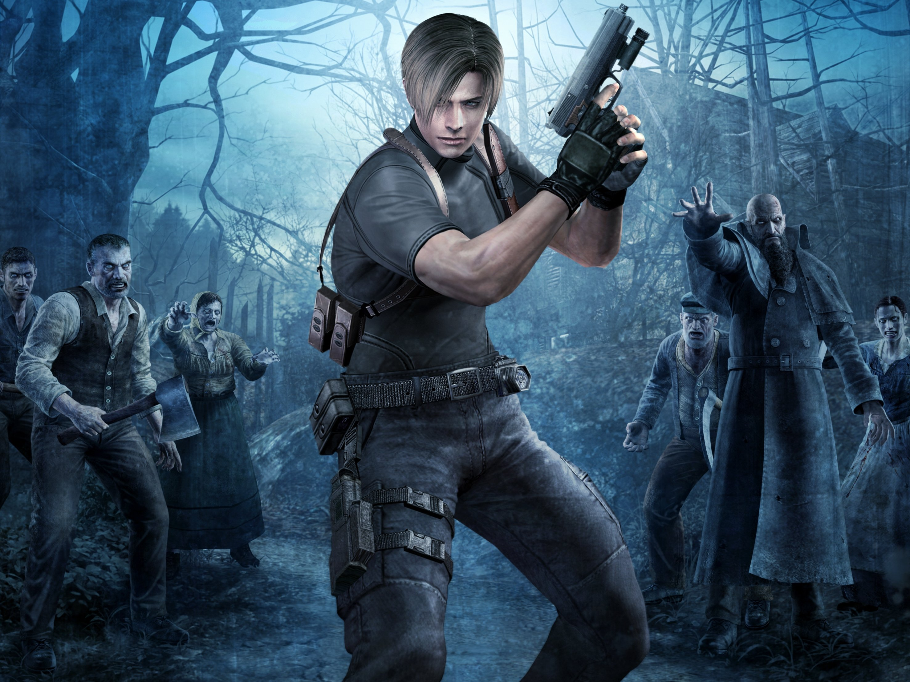 Resident Evil 4 HD Wallpapers and Background Images   stmednet 2954x2215