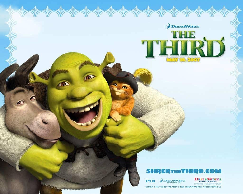 Animated Movies Shrek The Third Movie Wallpaper Arthur Christmas 1024x819
