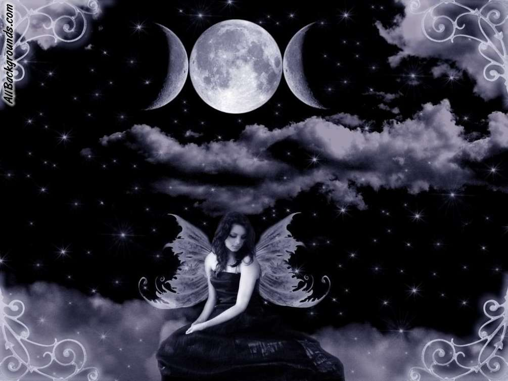 Dark Fairy Backgrounds - Twitter & Myspace Backgrounds