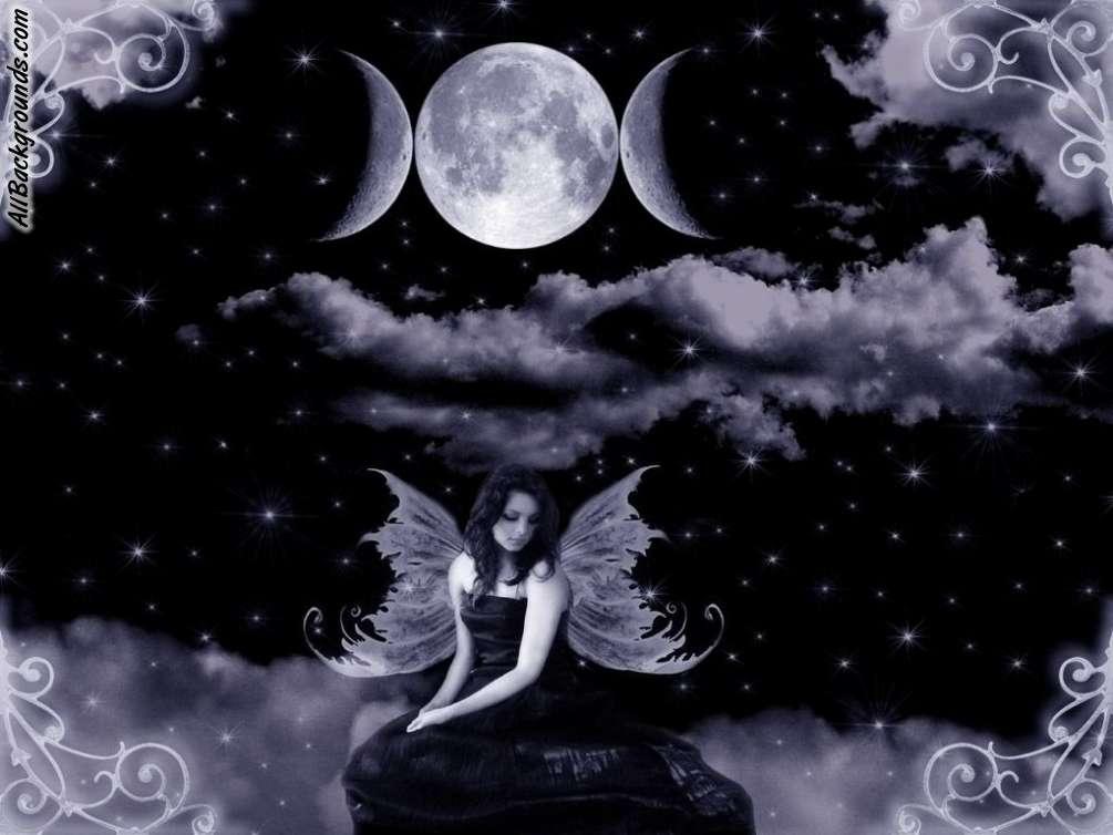 Dark Fairy Backgrounds - Twitter & Myspace Backgrounds