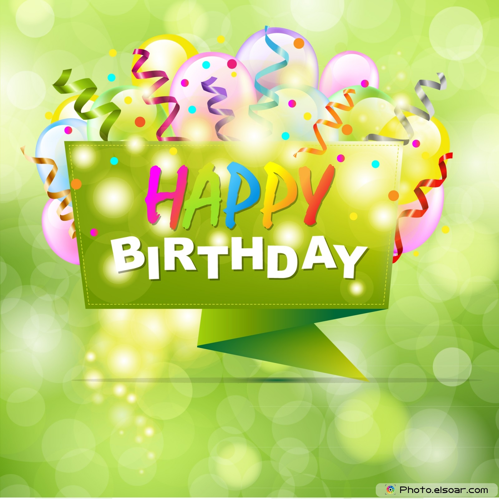 22 Happy BirthDay Cards on Bright Backgrounds Elsoar 1600x1600