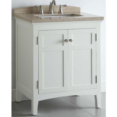 Lowes bathroom wallpaper wallpapersafari - Lowes bathroom vanities without tops ...