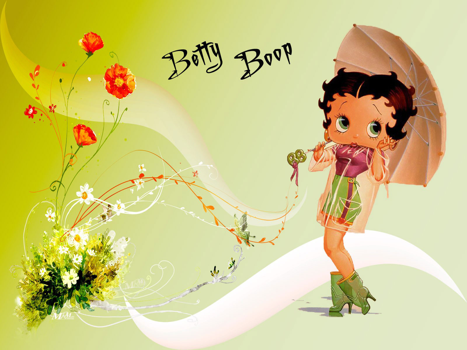 Free Download Betty Boop Wallpaper And Background Image