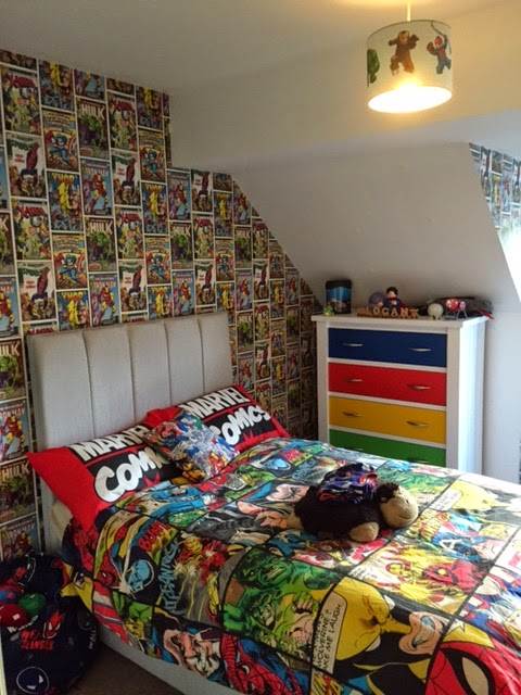 The Breastest News The Boys Bedroom Makeover  Marvel Wallpaper for Boy Room  WallpaperSafari. Marvel Bedroom Wallpaper