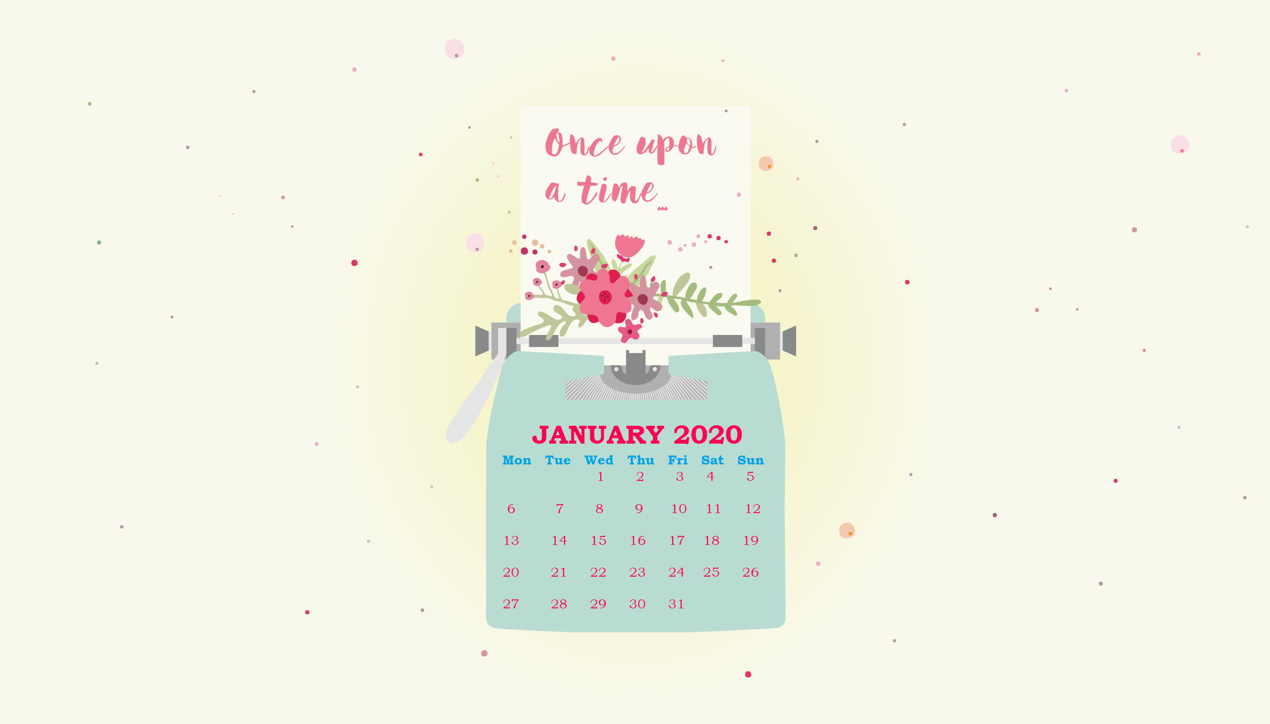 January 2020 Wallpaper Calendar Calendar 2019 2560x1459