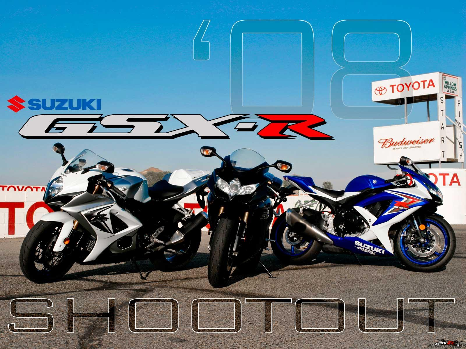 Fondos de escritorio de las Suzuki GSX R 2008 Motos Suzuki GSX R 1600x1200