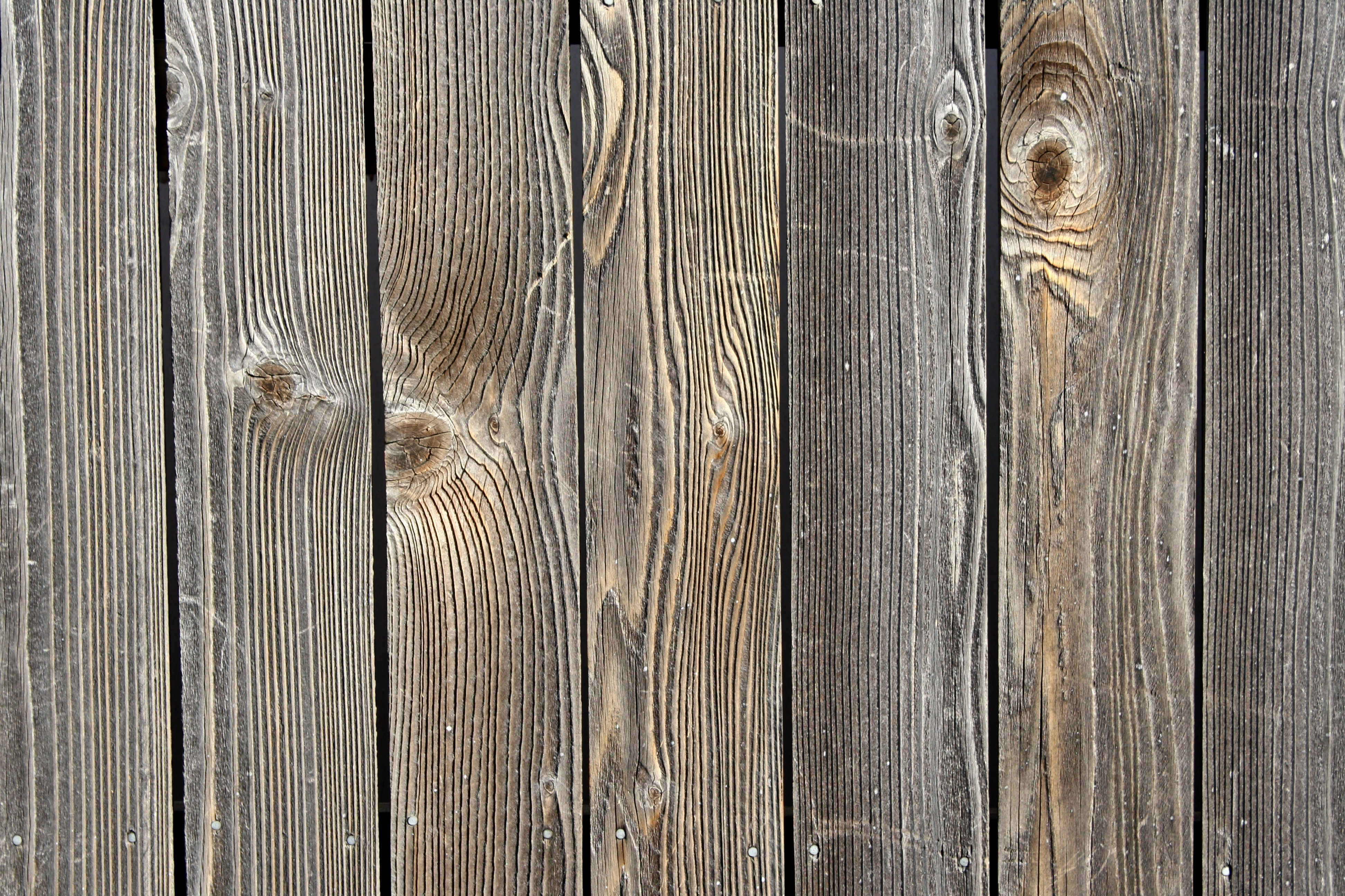 Weathered Wooden Boards Texture   High Resolution Photo 3888x2592