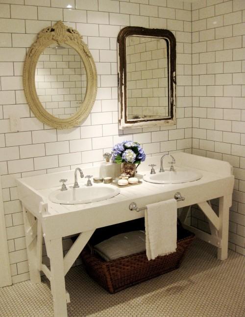 Home Dec2008 23 500x648 Rustic Farm Table For Bathroom 500x648