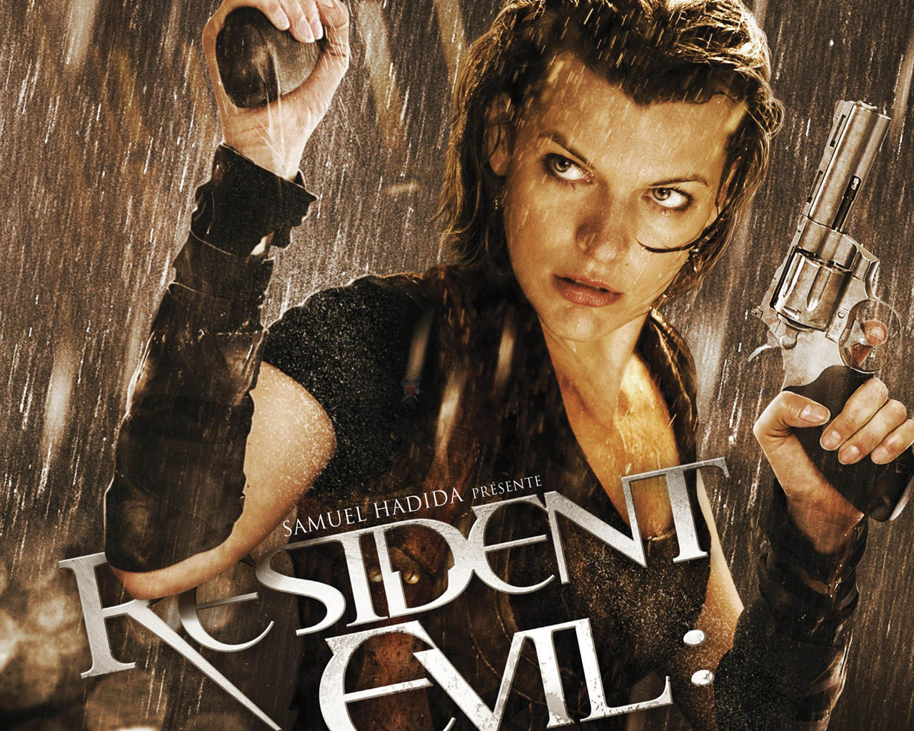 Resident Evil The Final Chapter 2016 Movie Hd Wallpaper: Milla Jovovich Resident Evil Wallpaper