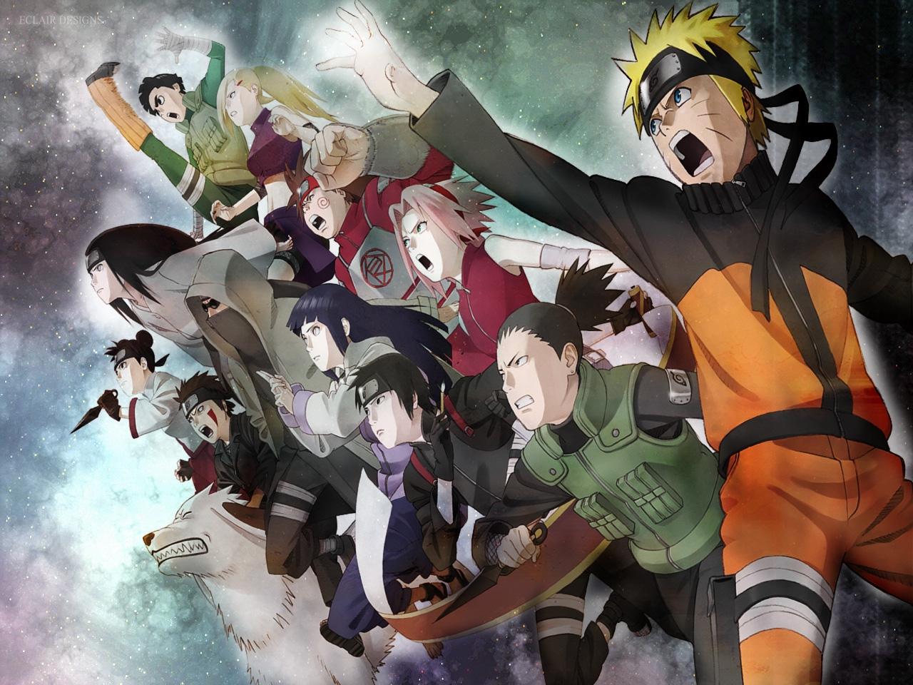 Naruto group manga