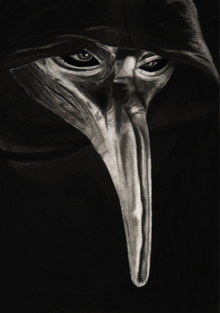 The Plague Doctor by WolfsbaneWolfen 750x1065