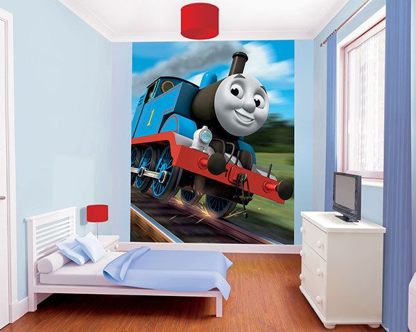 Walltastic Wallpaper Thomas the train XL   DECOVISTA   Toms Drag 600x480