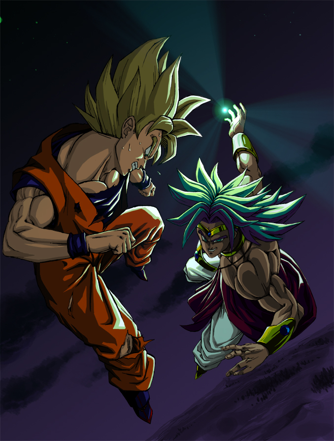 Dragon Ball Z Images Goku Vs Broly HD Wallpaper And Background Photos 678x893