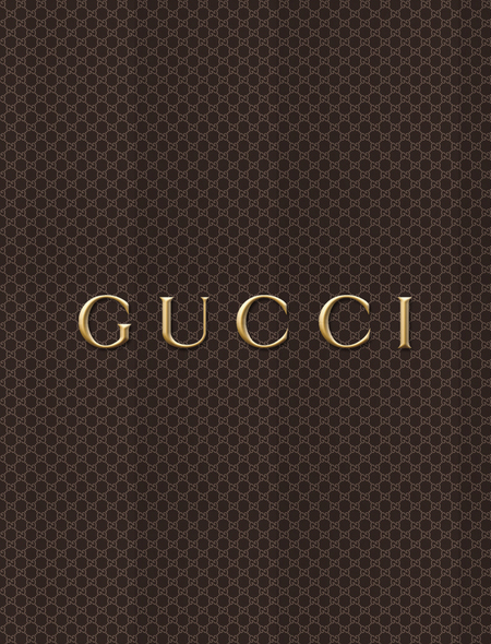 Gucci Print Wallpaper for Phones and Tablets 450x590