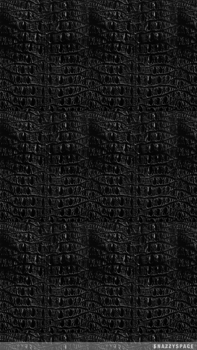 Black Snake Skin Wallpaper 640x1136