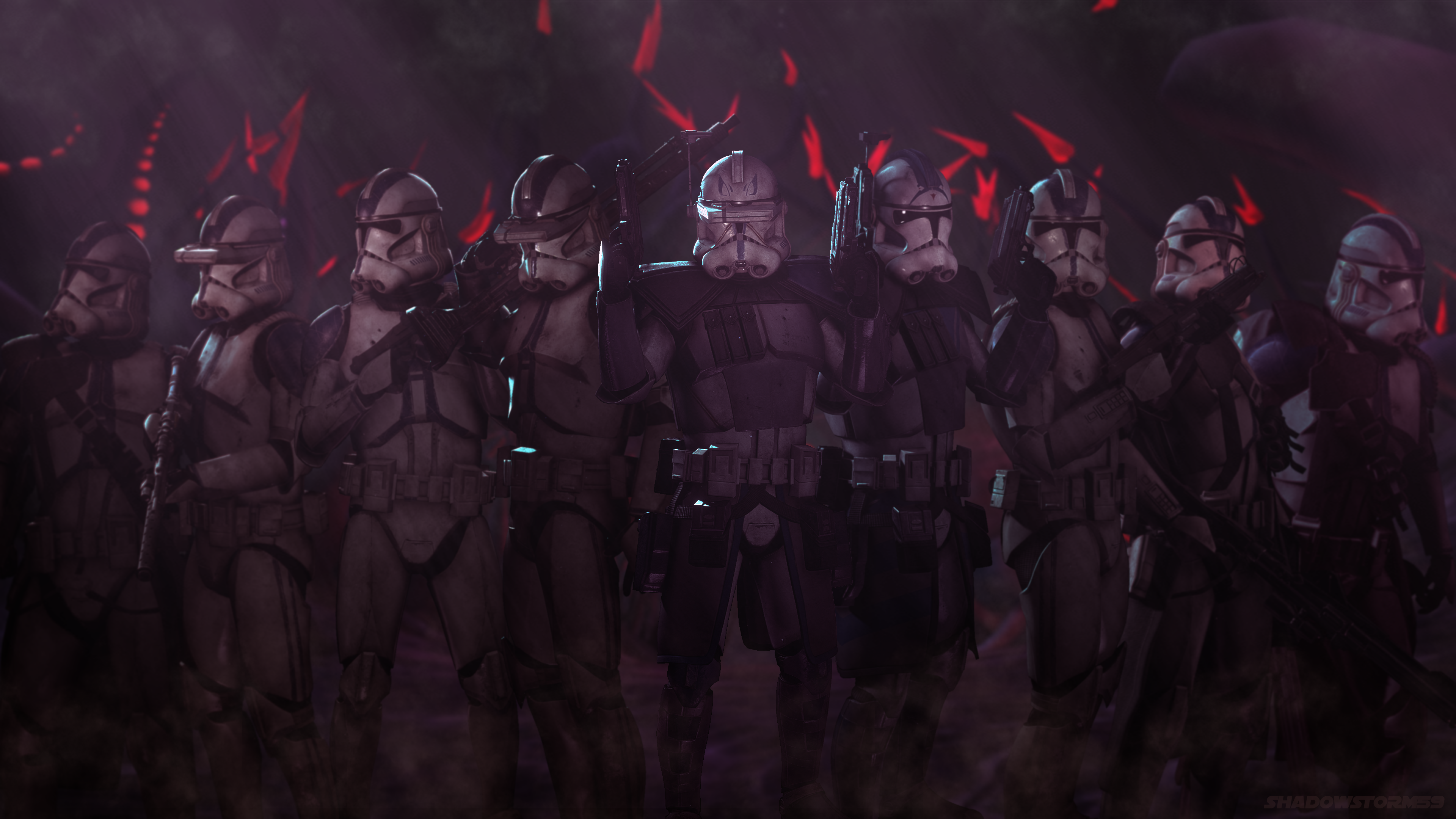 They forged the empireThe 501st legion wallpaper in 4k 3840x2160