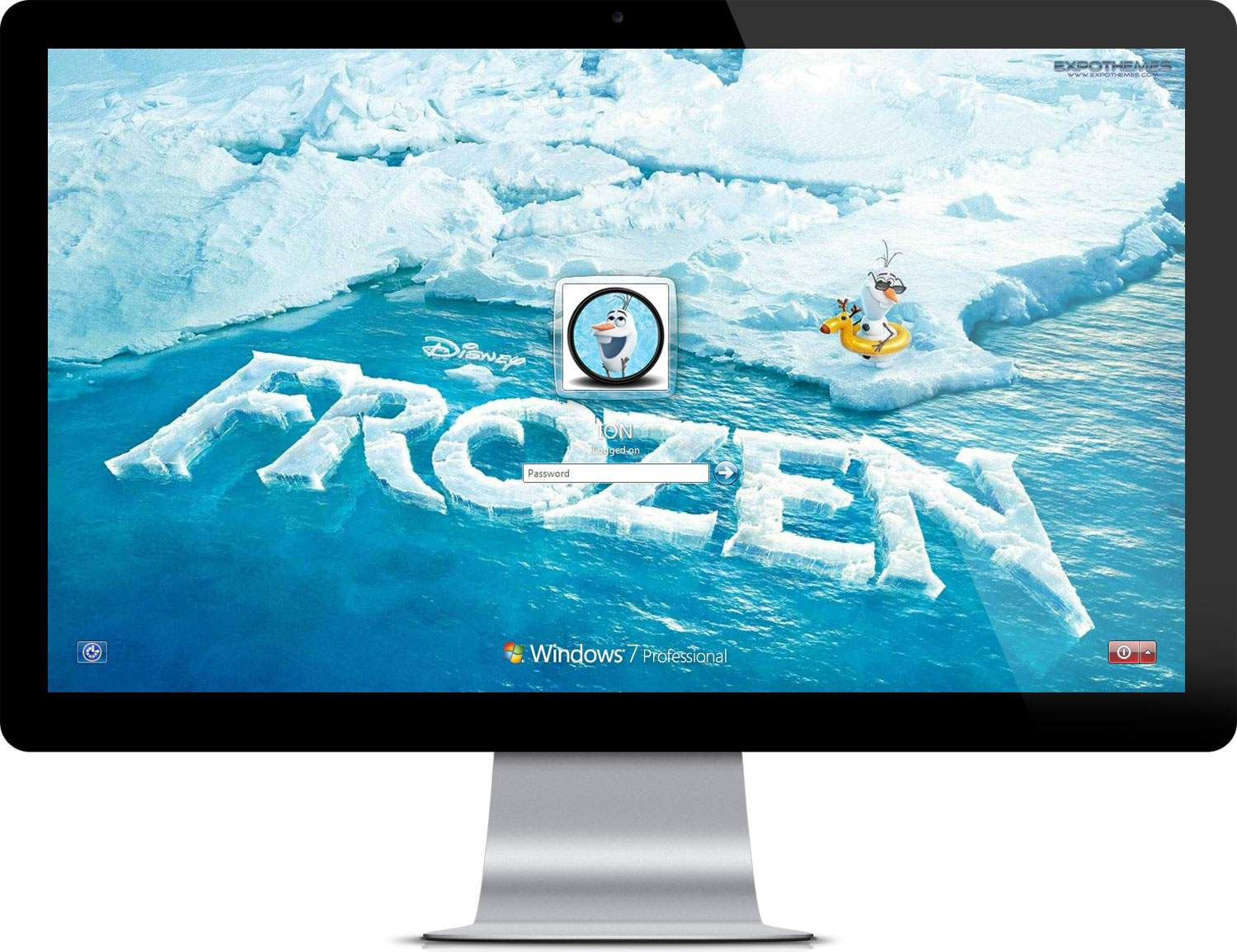 Frozen Startup Screen and Account Picture 1500x1155