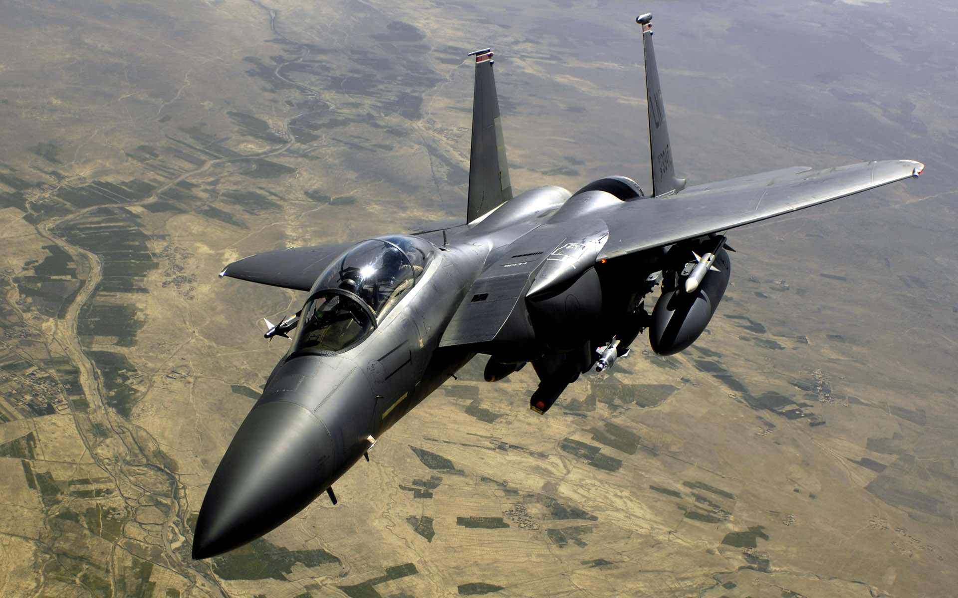 Air Force F 15E Strike Eagle Aircraft Wallpapers HD Wallpapers 1920x1200