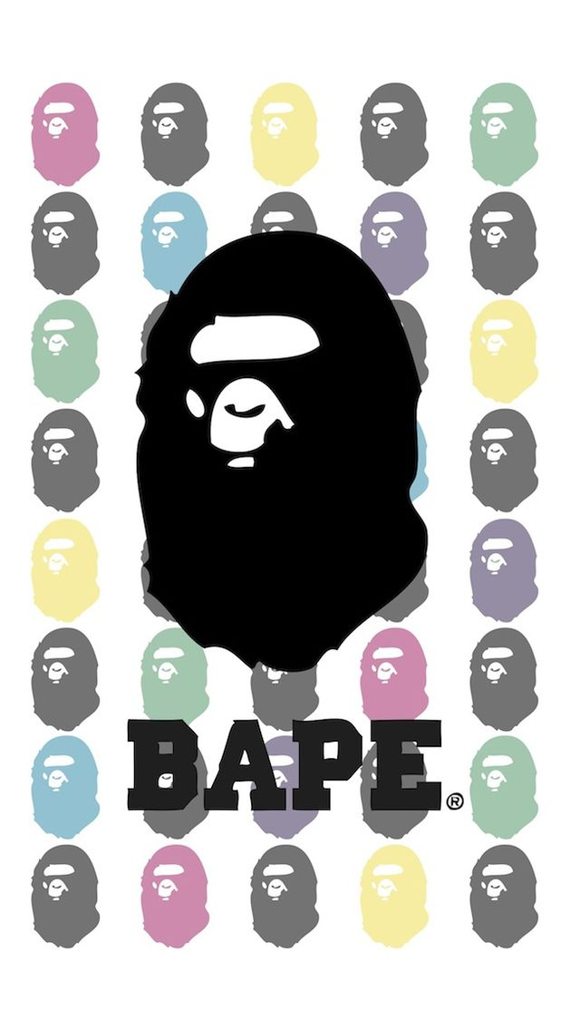 Logo Brands Bape Bape wallpapers en 2018 Pinterest 640x1136