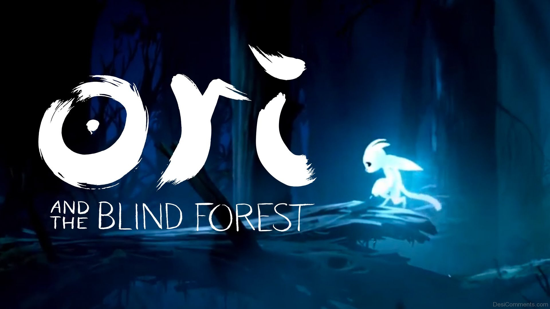 Ori And The Blind Forest Game Poster - DesiComments.com