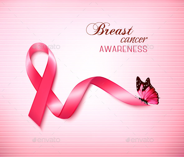 Breast Cancer Pink Heart Ribbon - Move - Totally Free