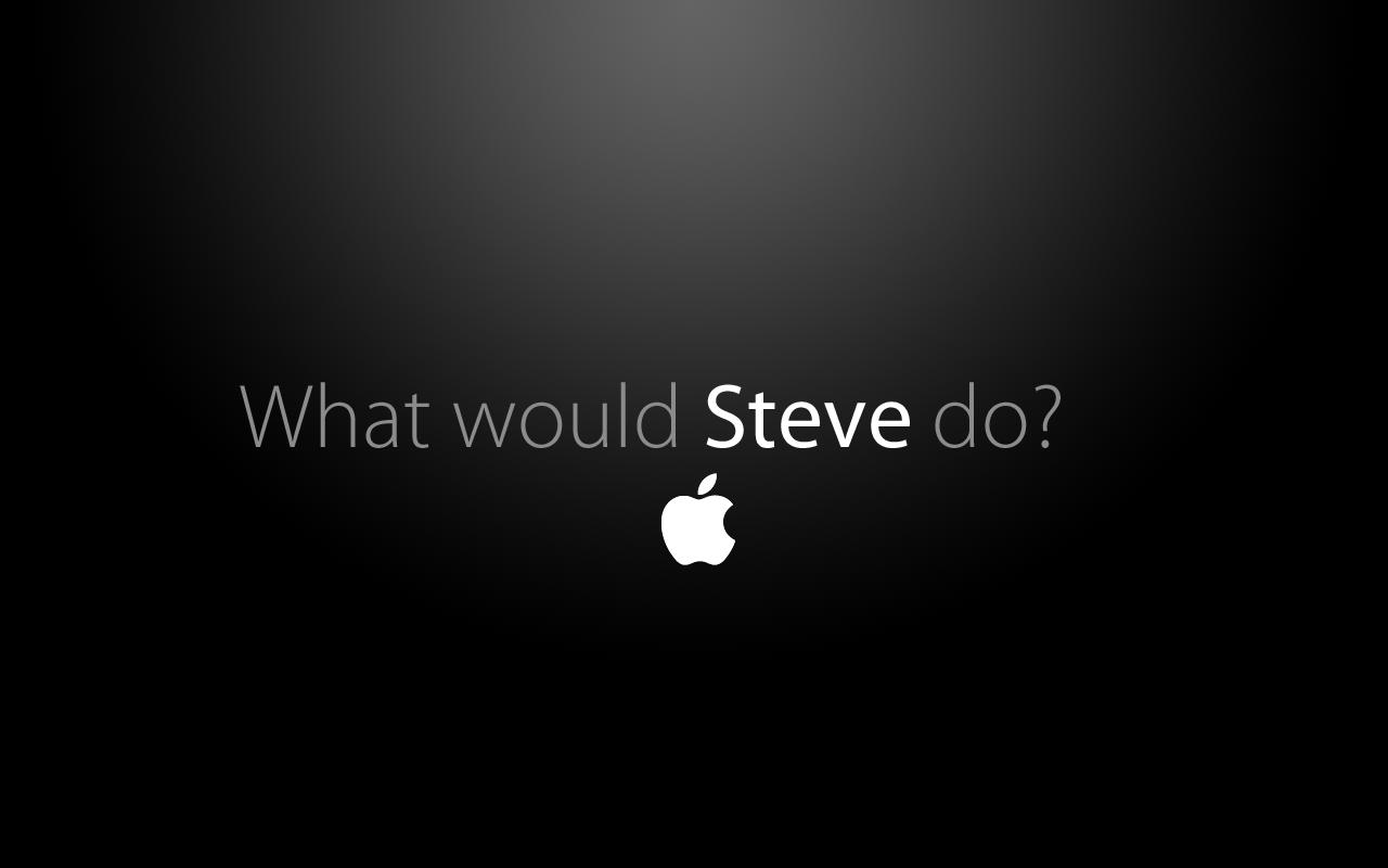 Free Download Steve Jobs Apple Logo Wallpaper Images