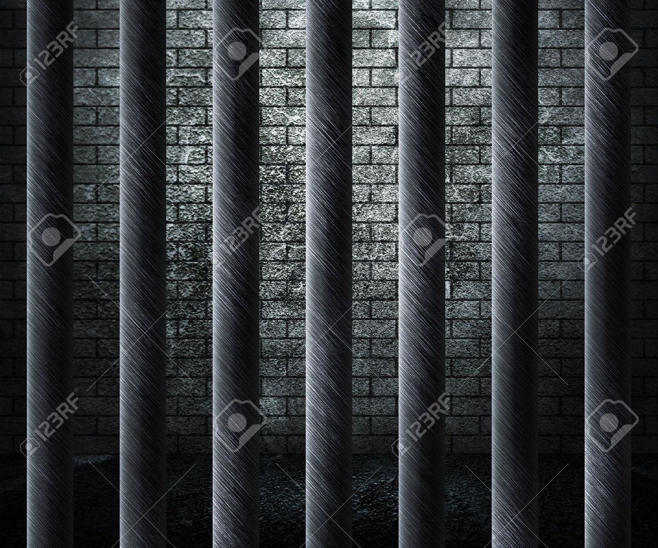Prison Cell Background Stock Photo Picture And Royalty Image 1300x1083