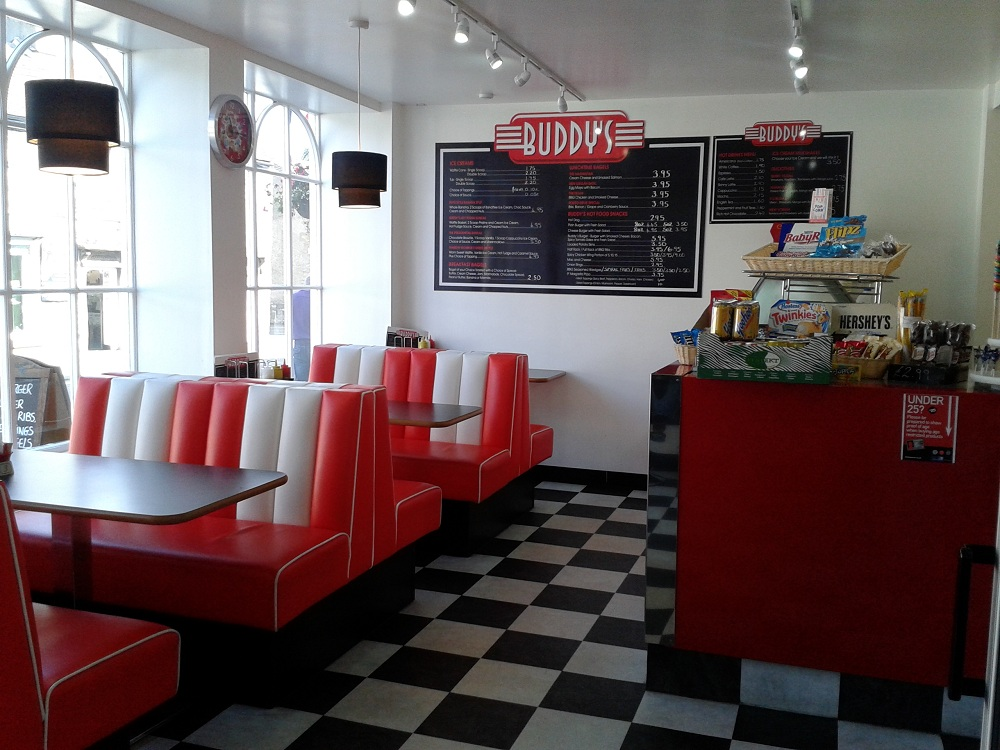 50s Diner Wallpaper Wallpapersafari