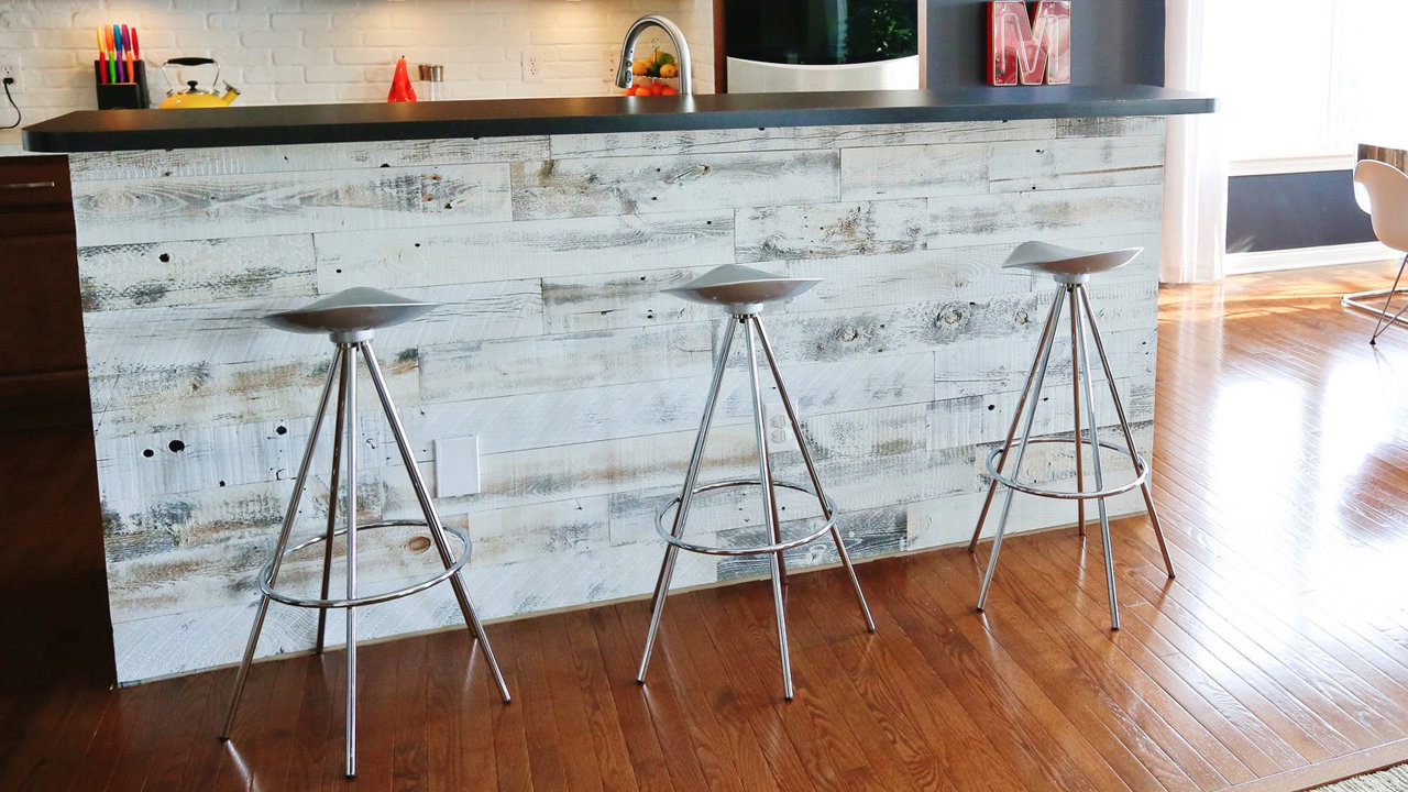 Reclaimed Wood Peel And Stick WB Designs - Peel And Stick Wood Panels WB Designs
