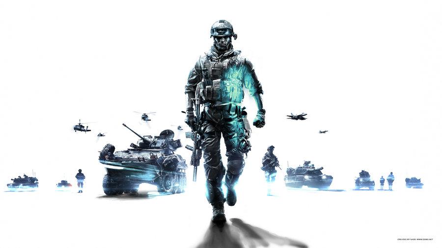 Battlefield 3 Wallpaper White 1080p by GuMNade 900x506